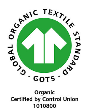 GOTS - Global Organic Textile Standard - Organic Certified by Control Union 1010800